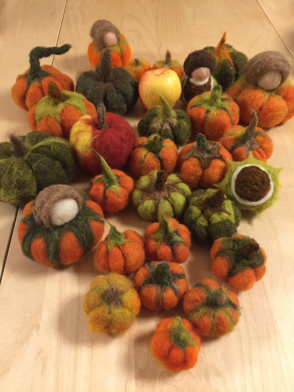 Herbstlicher Bastelkreis
