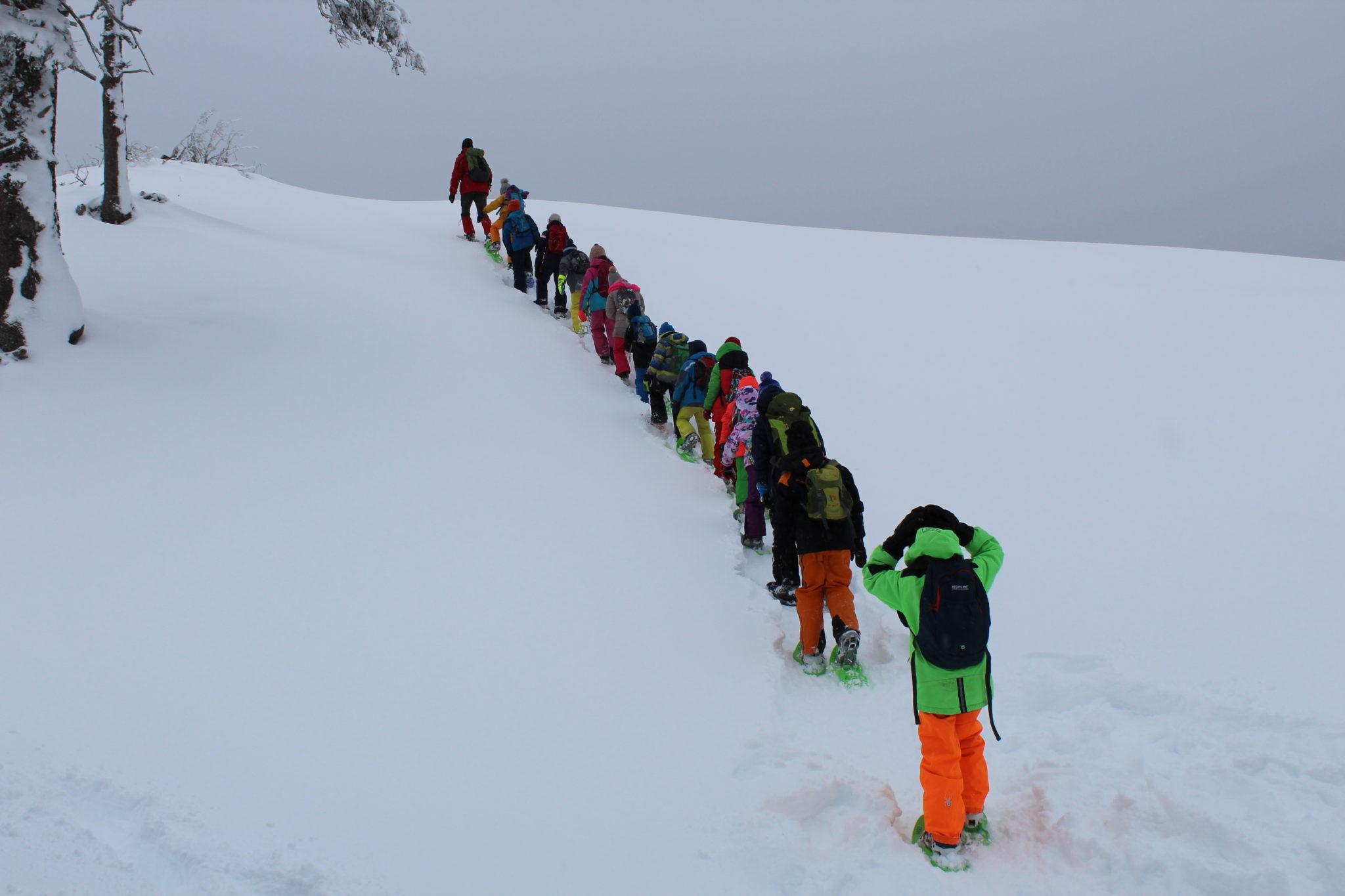 Schneeschuhwanderung am Dobratsch